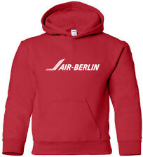 Air Berlin Vintage Logo German Airline HOODY