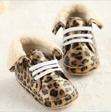 Hot Soft Sole Crib Baby Girl Shoes Winter Toddler Sneaker First Walker #G48#