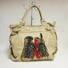 SHOES DIAMANTE STUDS SHOULDER BAG HOBO / MESSENGER BAG
