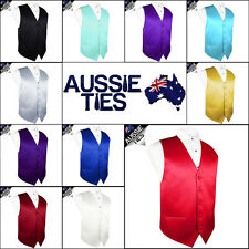 "MENS HIGH QUALITY WAISTCOAT / VEST CHOOSE COLOUR & SIZE (36-50"" chest)"