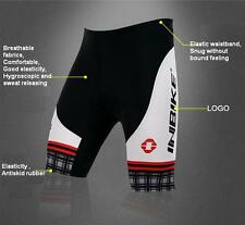 Men Bicycle Bike Cycling Shorts Pants Outdoor Wear Riding Gel 3D Padded S,M,L,XL