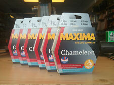 MAXIMA CHAMELEON 100m' SPOOLS CARP AND COURSE FISHING LINE at M H Tackle