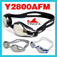 YINGFA Y2800AFM SWIMMING GOGGLES ANTI-FOG UV PROTECTION BLACK GRAY WHITE RED NEW