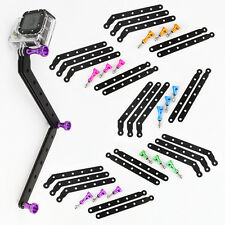 New Aluminum Alloy Extension Arm Mount Screw Set for GoPro HD Hero 2 Hero 3