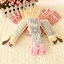 1pc Pretty Bowknot Cover Bag Protector For TV Air Conditioning Remote Control