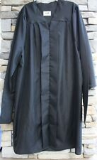 Jostens Masters Graduation Gown Black Matte Acetate and Some Generic Many Sizes