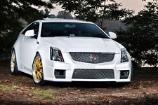 Poster of Cadillac White Right Front CTS-V HD Print Free Shipping
