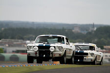 Poster of Ford Mustang Shelby GT350 HD Muscle Car Print