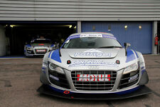 Poster of Audi R8 LMS HD Race Car Print Free Shipping