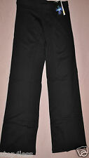 Nwt Bal Togs adult sizes Black tactel spandex  dance pants trousers #SIL87102-34