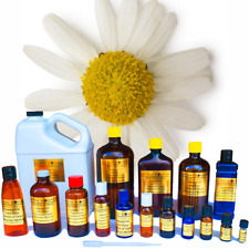 Chamomile Hydrosol Distilled from Essential Oil Production - Sizes 3ml- 3 Gallon