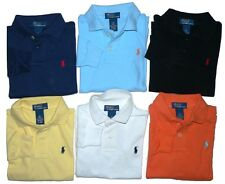 Boys RALPH LAUREN Long Sleeve Polo Shirt for 6 Months - 7 year  olds *NEW