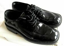 After Six Special Occasions Black Patent Leather Shoes - Ex Rental