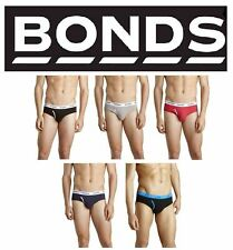 MENS BONDS GUYFRONT GUY FRONT BRIEF UNDERWEAR UNDIES BRIEFS JOCKS BLACK BLUE RED