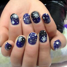 3D Nail Art Stickers Decals Decorations Christmas Tree Snowflake Gift Box Design
