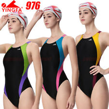 NWT YINGFA 976 RACING TRAINING SWIMSUIT SWIMWEAR US MISS ALL SIZE FREE FLAT SHIP