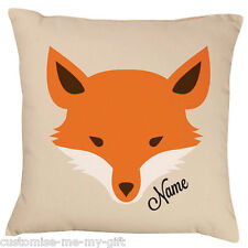 A hipster Fox -  Add your own text choice | Gift |