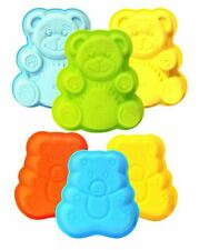 Teddy Bear Silicone Cake / Jelly Moulds