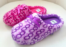 LADIES WOMENS SOFT COSY FURRY SLIPPERS MULES UK SIZES 3-8