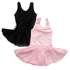 New Girls Ballet Dress Kids Leotard Baby Toddler Dancewear Sz 2-13Y