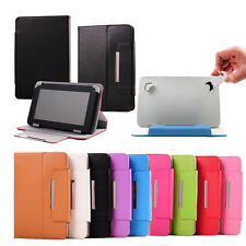 """Flexible Universal Leather Skin Case For Android Tablet PC 7"""" 8"""" 9"""" 9.7"""" 10.1"""""""