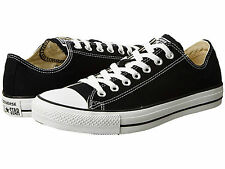 Converse All Star Chuck Taylor Women Shoes Black White Low Top New Without Box