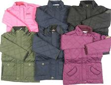 Regatta Great Outdoors Girls Boys Pink Purple Navy Black Green Quilted Jacket