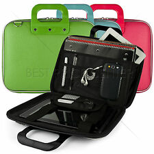 """Modern Office PU Leather Cube Case Cover for Sony Xperia Z 10.1"""" Tablet"""