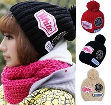 hot Wholesale Winter warm Knitted 012 pompon Beanie headdress knitting Hats