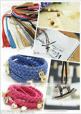 5 metres FLAT SUEDE LEATHER CORD 3mm (Various Colours) FREE SHIPPING FROM SYDNEY
