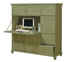 Harwick Office Center W and  Upper Cabinets And 4 File Drawers