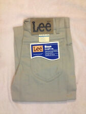 New Original Vintage Lee Twill Colors Unwashed Jeans Tan