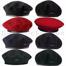 Mens Authentic Classic KANGOL Wool Monty Military Beret 0248HT