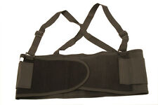 Safety Warehouse Back Brace & Lumbar Support Belt *Use for Reduce Strain* S-2XL