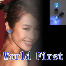 1pair of LED Earring Studs Light Up Crown Style for Party New Year Xmas Fun club