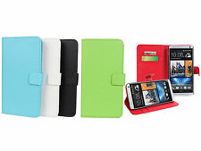 Smart Magnetic Clip Flip Wallet PU Leather Phone Case Cover For HTC ONE Max T6