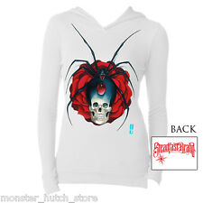 NEW W/ TAGS WOMENS STEADFAST WIDOW MAKER LS THERMAL WHITE SMALL-XLARGE LIMITED