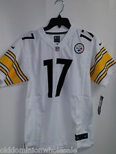 New Nike NFL Pittsburgh Steelers Mike Wallace #17 Kids Youth Football Jersey