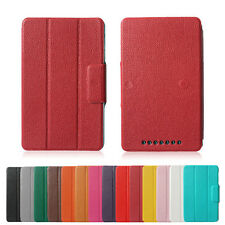 PU Leather Sleep/Wake Folio Stand case For 1st Gen Google Asus Nexus 7 Tablet