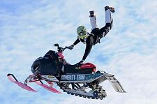 Polaris Snowmobile Freestyle Picture Poster Sled Action Sports Hart AttackTrick