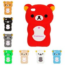 Trendy Iphone 4S Bear Silicone Case Hull Cover Bumper Cases Protective Cover
