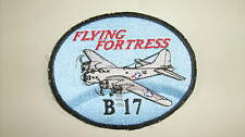 B-17 Flying Fortress USA Made Patches WWII Airplanes by All Star Warbirds Custom