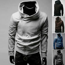 PJ Korean Men's Stylish Handsome Slim Fit Hooded Coats Hoodies 4 Size S~XL