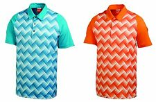 PUMA Golf Rickie Fowler Mens DOU SWING Polo Shirt NWT Orange Bluebird pick size