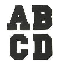 Alphabet Letters Stickers Foam Varsity Font, 4-Inch choose all ABC Foamies craft