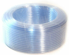 90 Meter PVC Clear Hose Reels Tubing Flexible Garden Water Delivery Air Line
