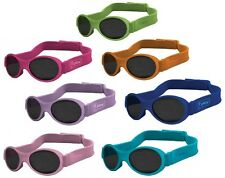 IPlay Infant & Toddler Solid Flexi Specs Sunglasses w/ Headstrap - 15792