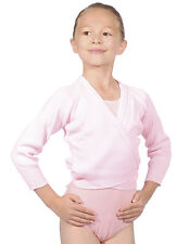 Roch Valley Ballet Dance Wrap Cardigan acrylic available pink/white.