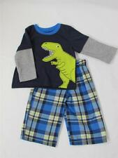 NWT CARTER'S  Baby Boy's 2 pc Dinosaur PJ set Sizes 6 M, 12 M, 18 M, and 24 M