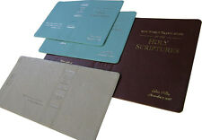Personalized Leather Self Adhesive Revised New World Translation Covers